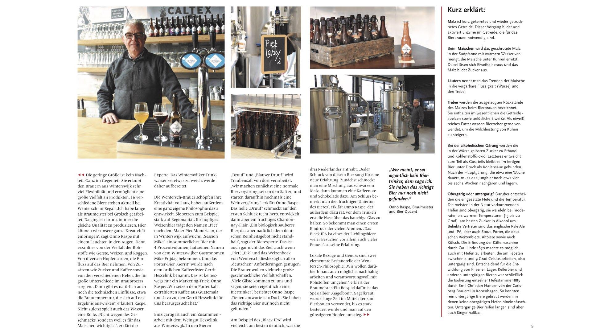 Wentersch Nu Ook Beroemd Over De Grens Brouwerij Wentersch